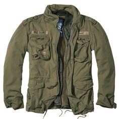 army jacket | Brandit M65 Jacke Giant oliv günstig im Bundeswehr und Freizeitshop