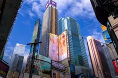 The Colors of Time Square
