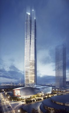 Hengqin International Financial Center, Zuhai-China, completion-2017, designer-Andy Wen, Keith Griffiths | Aedas