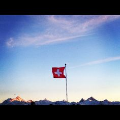 Those Swiss Alps