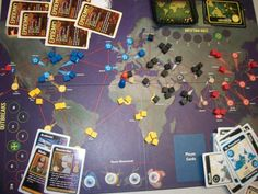Pandemic, one of my all-time favorite boardgames...