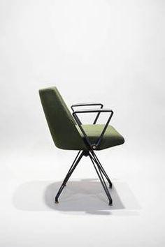 Swivel chair S88 by Osvaldo Borsani, Tecno Milano 1957