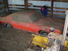 Barn find....What would you do if you opened a rickety-old barn door, and there, untouched by human hands for decades, was a documented 1969 Pontiac GTO Judge—one of the most collectible coupes in muscle-car history?