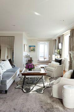 Tiffany Eastman Interiors, transitional room setting featuring Stark. #StarkTouch Carpet Design, Floor Design, Formal Living Rooms, Room Set, Great Rooms, Tiffany, Interiors, Flooring, Interior Design