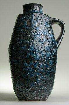 Jopeko Keramik West German Pottery Fat Lava Modern Mid Century Vintage Retro Pot