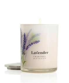 Lavender Poured Candle 195g | Crabtree & Evelyn