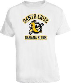 Pulp Fiction Banana Slugs Santa Cruz Movie T Shirt