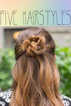Best hairstyles for long hair. Top trendy hairstyles for long hair. Sexy ideas for long hair. Cute long hairstyles for women. Easy hairstyles for girls. Back To School Hairstyles, Work Hairstyles, Quick Hairstyles, Elegant Hairstyles, Braided Hairstyles, Wedding Hairstyles, Curly Wedding Hair, Hairdo Wedding, Curly Hair Styles