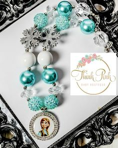 Chunky bead necklaces are all the rage and the newest photo prop for all girls- big & small! A great accent for any outfit, this beaded necklace is perfect for photos, a special occasion, everyday, an