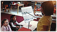 From Magical Movement Company's blog: Who Says Little Kids Can't Read and Write Music? Let's Do This, The Montessori Way!