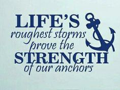 Life's Strength.