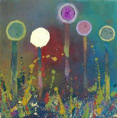 90de09f95cb Contemporary Art for Sale by Yvonne Coomber 0158 Forest Painting