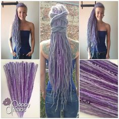 synthetische Dreads aus Magdeburg. Follow me on instagram: @poppydreads_magdeburg or facebook:...