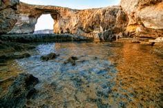 The Azure Window, Gozo © Michael Jurick New York Photographers, Archipelago, Maltese, Grand Canyon, Places To Go, The Incredibles, Malta Italy, Islands, Window