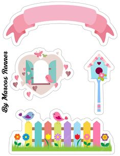 Peppa Pig Stickers, Dibujos Baby Shower, Fairy Baby Showers, Owl Door, Image Hd, Math For Kids, Cute Cartoon Wallpapers, Little Birds, Cute Drawings