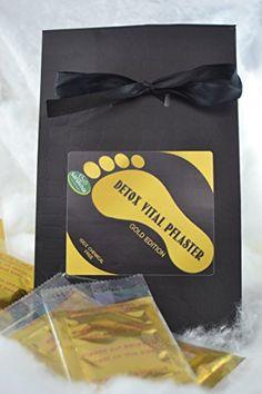 Detox Vital Pflaster - Gold Edition, Bambus - Fußpflaster... https://www.amazon.de/dp/B01NABCYEZ/ref=cm_sw_r_pi_dp_x_WmrtybAD8E6XR