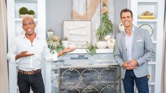 Ken Wingard is giving your mantel a Fall makeover that can be done in minutes! Home And Family Crafts, Home And Family Hallmark, Hallmark Homes, Sage Green Paint, Green Pumpkin, Spice Storage, Family Show, Happy Fall Y'all, Fall Harvest