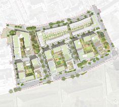 Aylesbury Estates Regeneration | London, UK | HTA Design #masterplan #urbandesign #landscapearchitecture