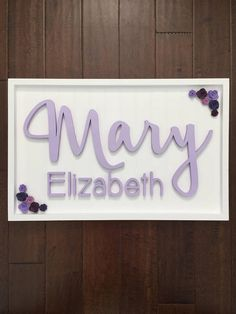 Baby name signs are a great addition to any nursery! Signs are also popular for use in maternity and newborn photography, decor at baby showers and birthdays and of course make unique personalized gifts. This listing is for the LARGE sign size Signs and letters are made from wood hand