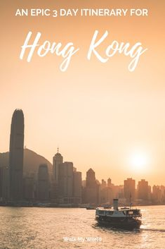 This isn't your average itinerary. We'll show you the best of the city centre along with some beautiful natural areas that you might not expect. Here's our three day itinerary for Hong Kong.
