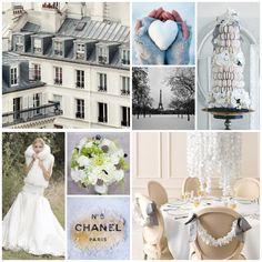 a #Parisian #winter #wedding