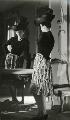 vintage Balenciaga--I wish I could dress like this every day.