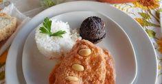 Fabulosa receta para Pipián Rojo de Pollo. El Pipián es una salsa de la época…