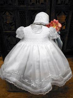 24752222f5 Next stop  Pinterest White Christening Dress