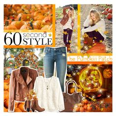 """60-Second Style: Pumpkin Patch"" by chey-love ❤ liked on Polyvore featuring rag & bone, ALDO, Chicnova Fashion, Nearly Natural, H&M, Madeline Girl, House of Harlow 1960 and Spring Street"