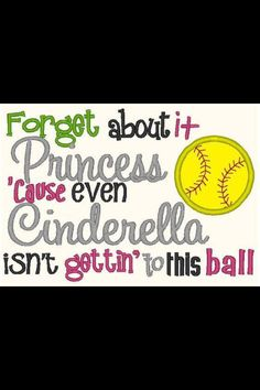 Softball - now I don't have a daughter, but for those who do.. THIS is precious!