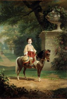 prince imperial | olivier pichat 1823 1912 le prince imperial sur son