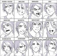 Comm: Hell expression meme by Noiry.deviantart.com on @DeviantArt