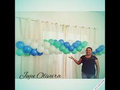 Arco de Balões Invertido(técnica)