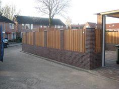 Dream Home Design, House Design, Brick Fence, Fence Design, Garden Gates, House Front, Outdoor Furniture, Outdoor Decor, Home And Garden