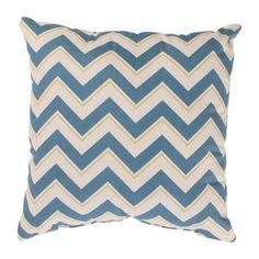 Pillow Perfect Chevron Throw Pillow