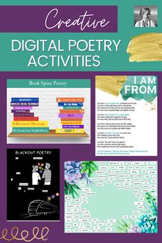 115: 5 Creative Digital Poetry Activities