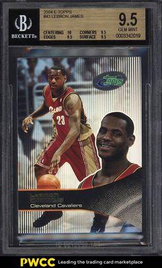 c2799a0d8630 2003 eTopps Basektball LeBron James ROOKIE RC  43 BGS 9.5 GEM MINT (PWCC) · Lebron  James CavaliersLos Angeles LakersLebron James Rookie CardBasketball ...