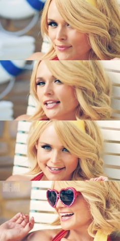 Absolutely love Miranda Lambert's hair in the Little Red Wagon Video!