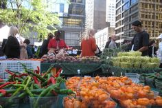 Lincoln Park Farmers Market - Armitage Ave. & Orchard St., every Saturday from June 18–October 29; 7am–1pm