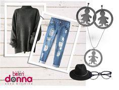 Casual chic con i dettagli #birikini della collezione #wonderlux #sonobirikina #birikinidonna