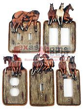 Details about Western Running Horses Light Switch Plate Covers Faux Wood Look Rope Edge Outlet Switch Plate Covers, Light Switch Plates, Light Switch Covers, Western Rooms, Rustic Western Decor, Western Wall, Horse Themed Bedrooms, Horse Bedroom Decor, Bedroom Ideas