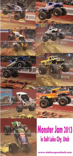 Monster Jam 2013 in Salt Lake City (view pix and videos)