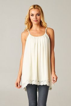 Just Like Heaven Tank from Simply Southern Style