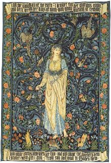 Flora by William Morris
