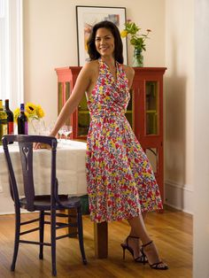010dfa21e9 Saturday Night Silk Jersey Dress from Weekend Sewing by Heather Ross