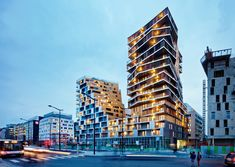Harmonic Architects and Comte Vollenweider Architects --> The Masséna
