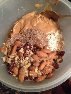 Granola Bars, 5 ingredients