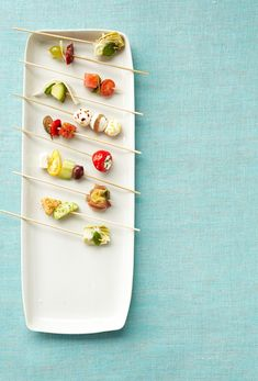 It's all about artful arrangement for these sophisticated skewers. Try our delectable ingredient combinations, then let your imagination run wild.