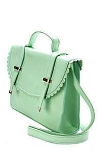 SCALLOPED SATCHEL Bucket Bag, Women Accessories, Satchel, Backpacks, Lady, My Style, Fashion, Moda, La Mode