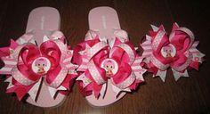 Lalaloopsy Custom Flip Flops Jewel Sparkles Girls size 12/13. $29.99, via Etsy.